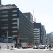 京橋一丁目東地区永坂産業京橋ビル新築工事の進捗状況 2018年5月15日