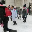 3年生のスキー教室、一斉下校指導が行われました。