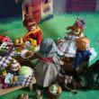 早い秋のお庭の大パーティー