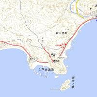 武井ノ島展望台GPSトラック