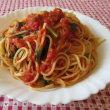 安売りのトマト缶でスパゲッティを作った