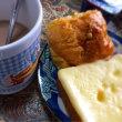ココアソイラテ&ダブルチーズ