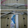 ダイソー(100円均一)の綿ゴムで三重紐を手作り(創作帯向け)