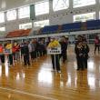 恒例の身体障害者スポーツ大会 宣誓は安本真紀子さん(ろうあ協会) 来賓のパン食い競争で始まる