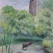 新宿御苑ー森の池