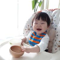 りっくん1歳になりました♪ 歩きたくてしょうがない時期に突入で、母は毎日へろへろです。笑 ちょこおじさんも元気ですよ。