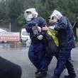<6月14日(木)の辺野古>雨の中、機動隊の暴力に屈せず、懸命の座りこみが続く