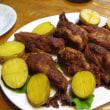 肉料理2種(ラムチョップロースト、スペアリブ)