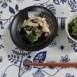 「青菜と桜えびの煮びたし」・・・飯村直美料理教室