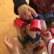 2歳時の積み木遊び