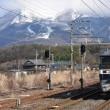 1月10日撮影分の中から 近江長岡駅で写した1051レ