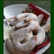 クリスマスのクッキー バニラキプフェル焼きました