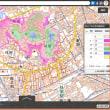 岡山市役所ホームページの津波避難用の標高地図は、わかりにくい。地理院地図と くらべると