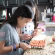 子供と作るコーンドッグ