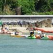 <9月19日の辺野古>久しぶりの海上行動---台風の復旧作業に追われる防衛局 // ゲート前では今日も違法ダンプが。