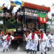 <中津祇園> 辻々で華麗な踊り、勇壮な練り込みも
