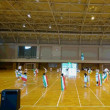 マーチング体育館練習