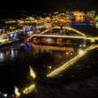 美しい鳳凰古城・夜景☆湖南省・中国