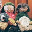 サラとダックン編みぐるみ