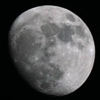 【昨夜の月】