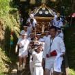 神余(かなまり)のお祭り お神輿の渡御(館山市)
