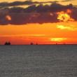 久しぶりにだるま夕日を撮影しました(^_-)-☆