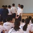 教育長杯ニュースポーツ大会が国見中で開催されました。