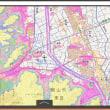 国土交通省の浸水想定区域の想定の地図は、わかりにくい大欠点。浸水深さ範囲が隣り合う色の組み合わせを変えて、書き換えるべき。