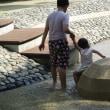 宇喜田中央公園のじゃぶじゃぶ池再開