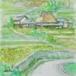 「猪名川町柏原の風景Ⅱ」の絵です