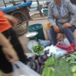 中国遼寧省 葫芦島市内での早朝散歩 朝市 4