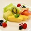 食べっぷりが自然体な豊島八段 @ 第89期棋聖戦第5局 午後も「フルーツ盛り合わせ」