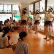 子育て広場でフラダンス披露