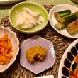 豚の生姜焼きの夕ご飯