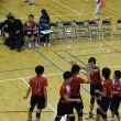 12/10 地区新人戦バレー 男子バレー部準優勝で県大会出場!