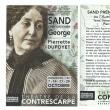 George Sand...une femme hors du commun mise à l'honneur au théâtre