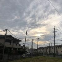 曇り昼にぱらぱら
