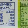 要注意 砂糖の分量