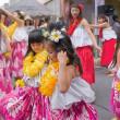 2017.08.05 中野区 鍋屋横丁 夏祭り フラダンス: 間もなく本番!