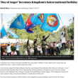 カンボジアで、今年から05月20日「追悼の日」は休日。