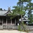 北部九州豪雨災害後の朝倉の道の駅「三連水車の里あさくら」と熊本大地震阿蘇の景色