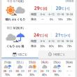 雨の予報が多いので、まさかまさかの・・・