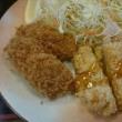 街かど屋 名古屋本山東店のカキフライ&チキン南蛮定食