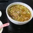【食べ記録】合鴨カレー南蛮蕎麦(細めん中盛)と合鴨鍋焼きそば うす切仕立て(細めん)鴨亭