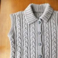 昔、編んだもの出来上がり。