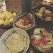 朝食 パイナップル