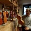 ストラディヴァリ「ヴェスヴィオ」の演奏を聴く、ヴァイオリン工房を訪問する