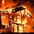 カリフォルニア州北部で大規模な山火事が発生