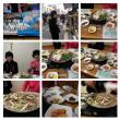 20091212韓国旅行 浦項にて友達と会食。