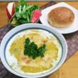 素朴なカボチャスープ